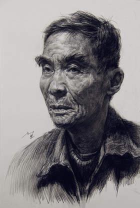 北京校尉美术素描图7