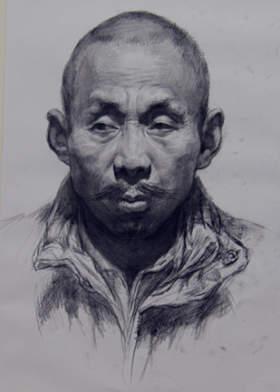 北京校尉美术素描图6