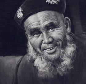 北京校尉美术素描图8