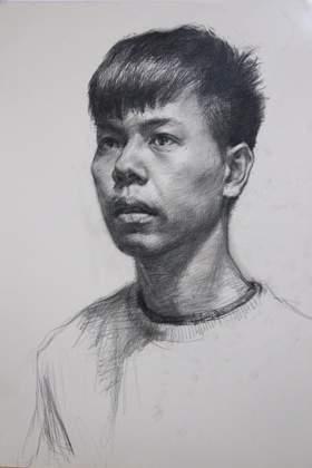 杭州大象画室素描图5