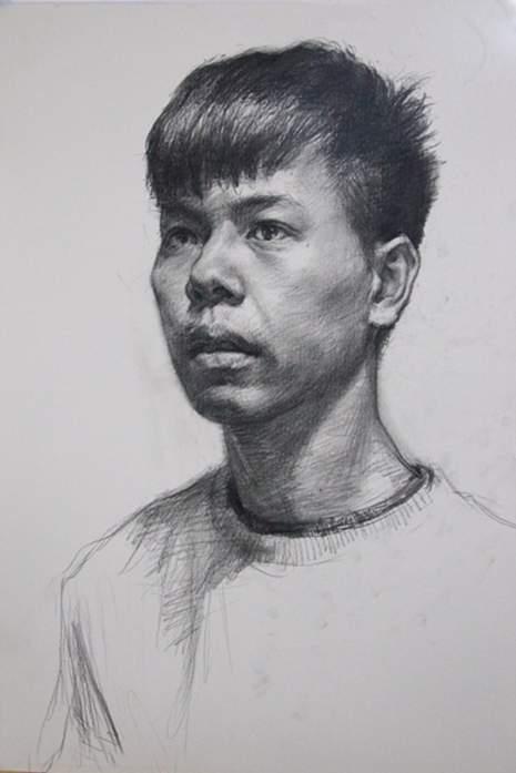 杭州大象画室素描图7
