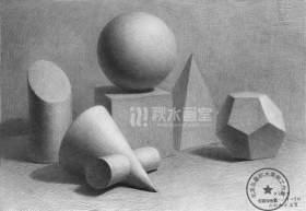 北京秋水画室素描图6