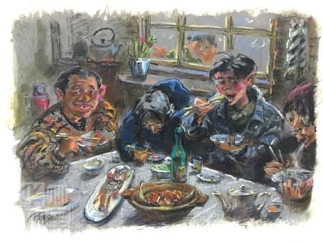 北京华卿画室创作图8