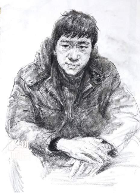 北京华卿画室速写图8
