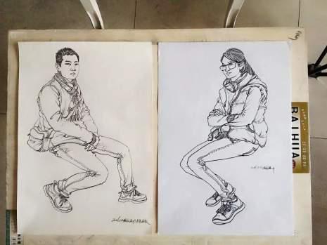 哈尔滨美苑艺新文化艺术学校速写图4