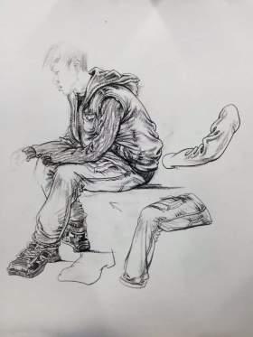 武汉768画室速写图4