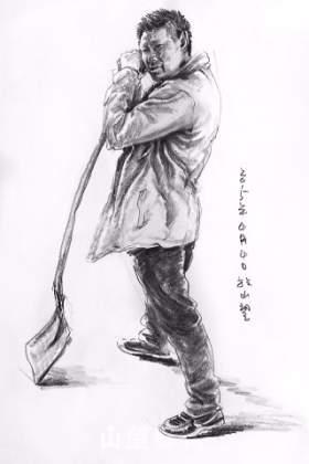 杭州山望艺术速写图8