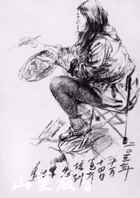 杭州山望艺术速写图7