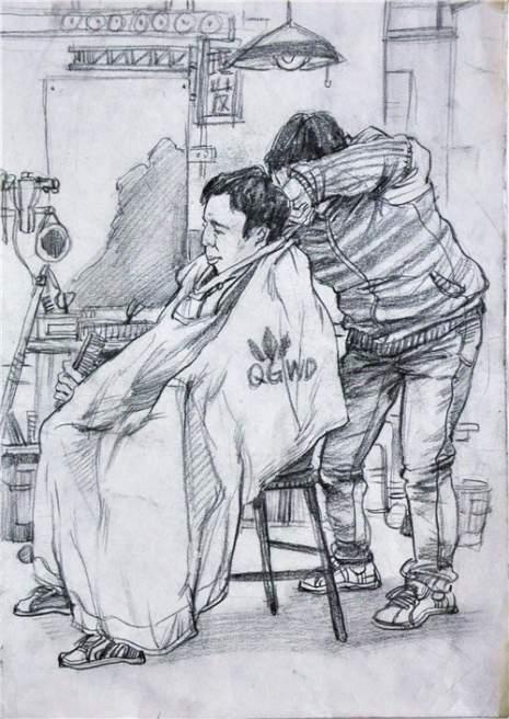 北京南街8号画室速写图4