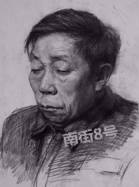 北京南街8号画室素描图7