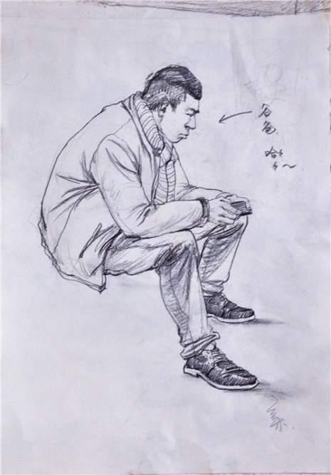 北京南街8号画室速写图7