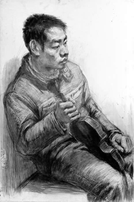 北京南街8号画室素描图4