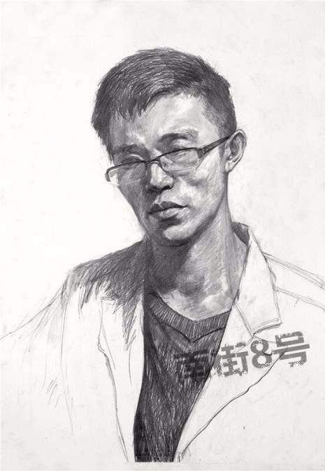 北京南街8号画室素描图8