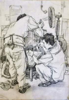 北京南街8号画室速写图2