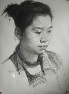北京南街8号画室素描图6