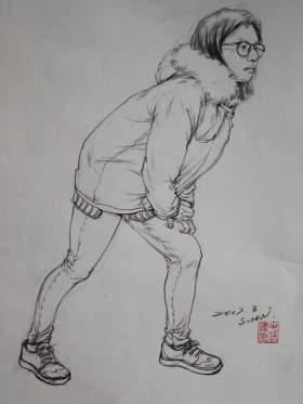 成都首创画室速写图71