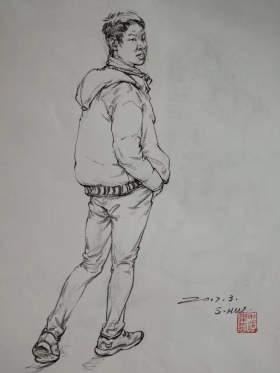 成都首创画室速写图53
