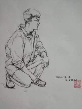 成都首创画室速写图51