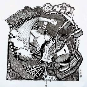 北京南街8号画室设计图3