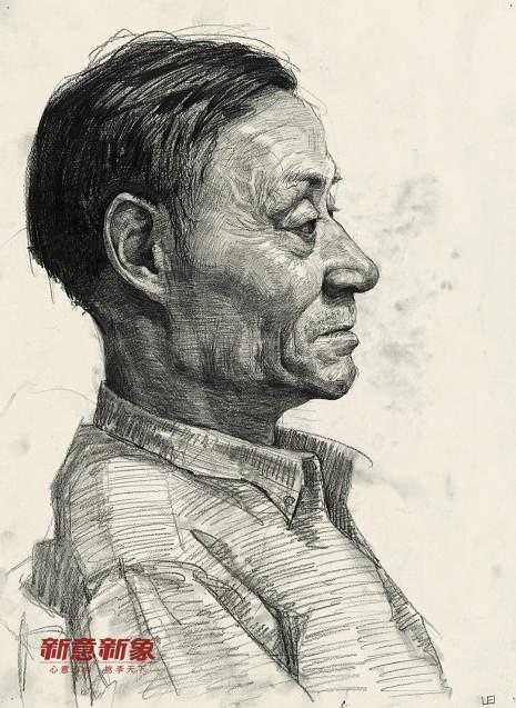 北京新意新象画室素描图2