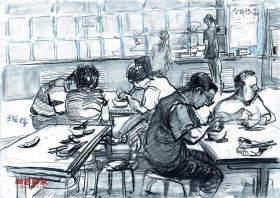 北京新意新象画室速写图1