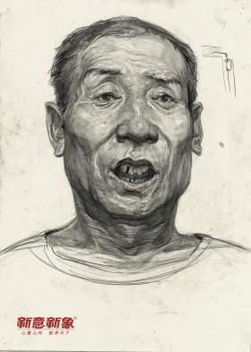 北京新意新象画室素描图6