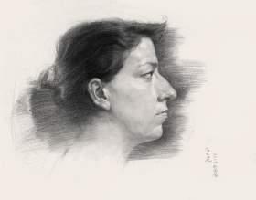广西图南画室素描图2