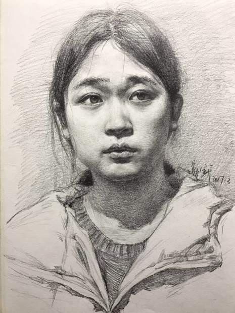 北京壹加壹画室素描图6