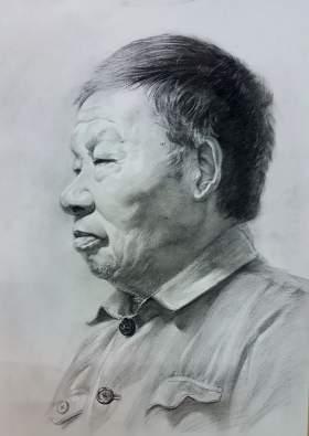 石家庄艺铭画室素描图1