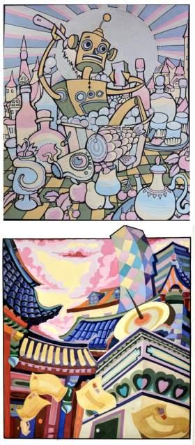 天津零晨美术教育设计图8