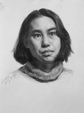 天津零晨美术教育素描图4