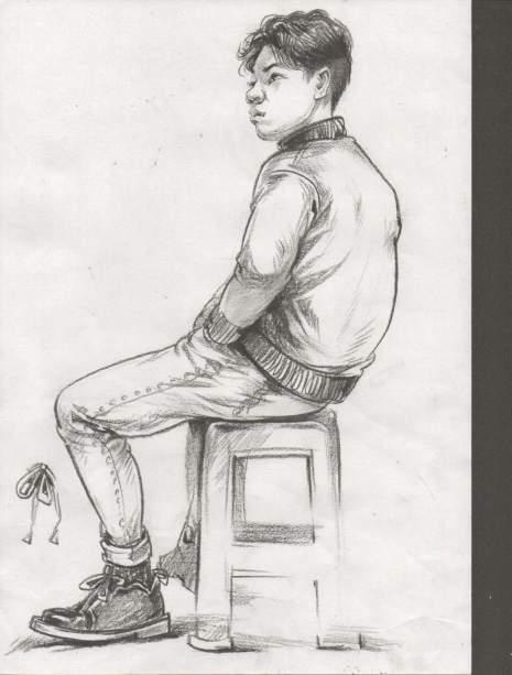 哈尔滨龙艺艺术学院速写图5