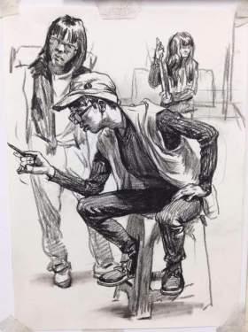 天津INK画室速写图4
