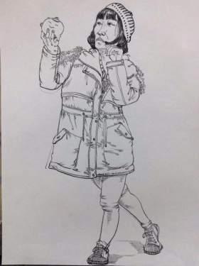 天津INK画室速写图3