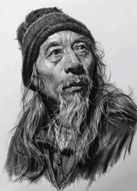 天津INK画室素描图5
