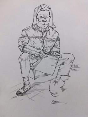 天津INK画室速写图2