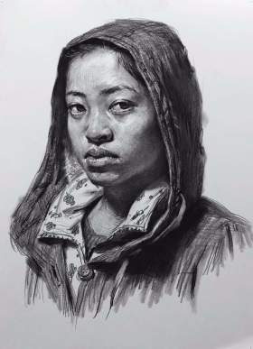 天津INK画室素描图1