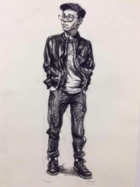 天津INK画室速写图6