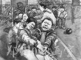 郑州098美术培训学校速写图5