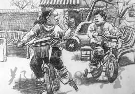 郑州098美术培训学校速写图8