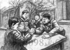 郑州098美术培训学校速写图3