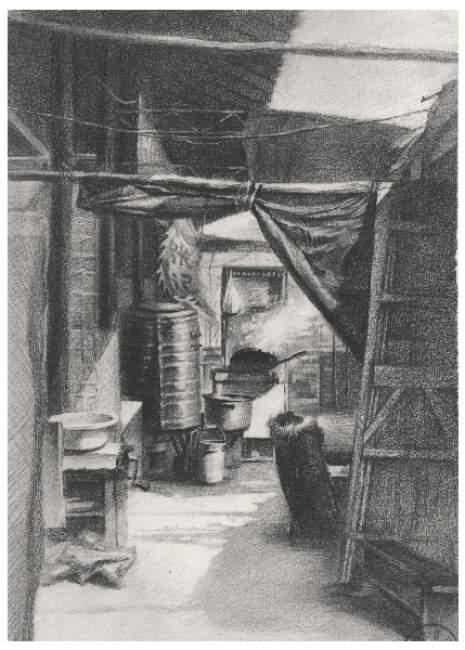 北京水木源画室素描图2
