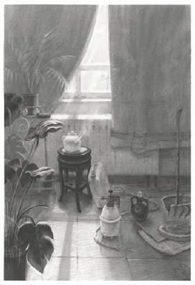 北京水木源画室创作图2