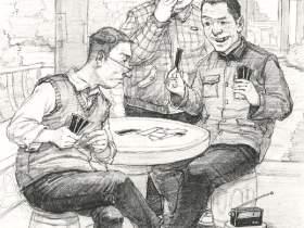 北京水木源画室速写图6