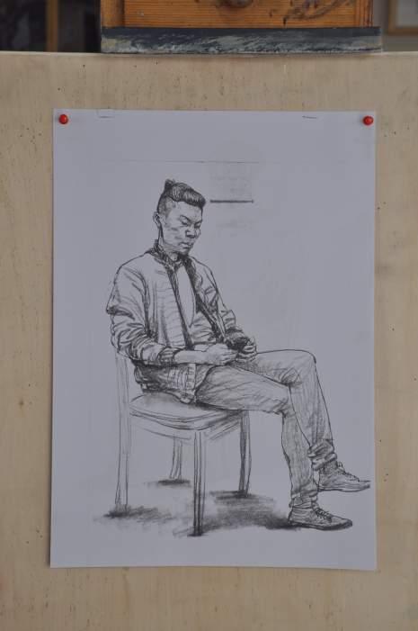 呼和浩特几维国际艺术教育速写图8