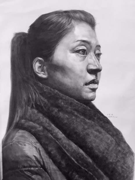 呼和浩特几维国际艺术教育素描图4