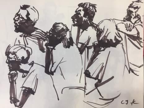 呼和浩特几维国际艺术教育速写图6