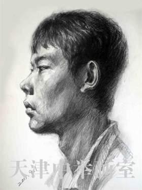 天津中举美术教育素描图6