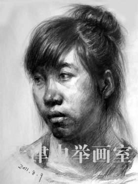天津中举美术教育素描图7