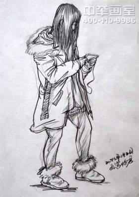 天津中举美术教育速写图6